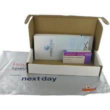 Box of Lipostat treatment with patient leaflet