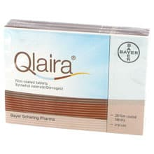 Image of closed Qlaira box