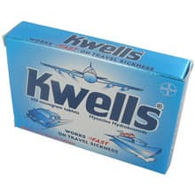 Image of a new pack of Kwells tablets